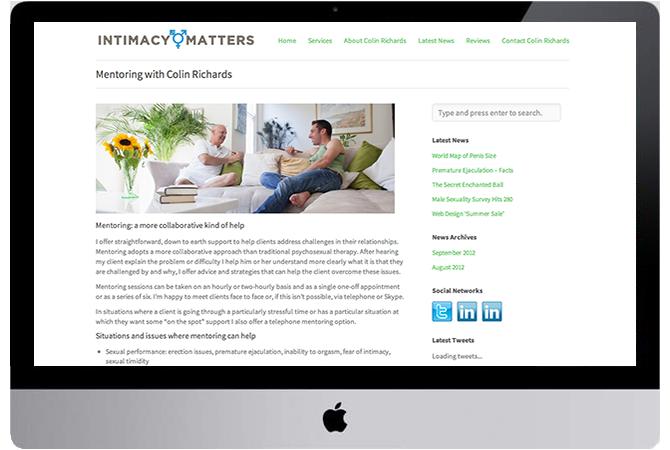 Intimacy Matters